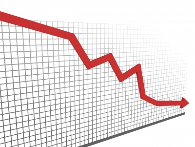 Market Down Graph